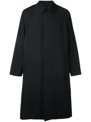 H Beauty And Youth Long Trench Coat Black