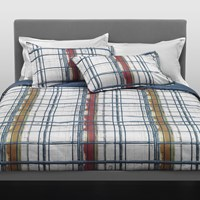 Trussardi Paint Duvet Set Blue King