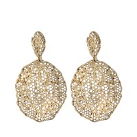Aurelie Bidermann Lace Pendant Earrings
