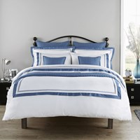 Christy Coniston Duvet Set Slate Blue White