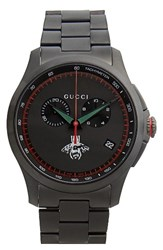 Gucci Men's Round Chronograph Bracelet Watch 44Mm
