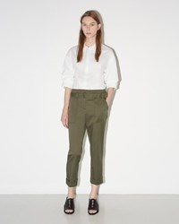 3.1 Phillip Lim Utility Cropped Pant Olive