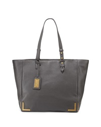 Badgley Mischka Linda Framed Leather Tote Bag Dove
