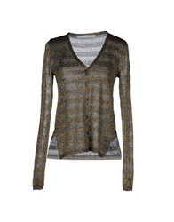 Schumacher Knitwear Cardigans Women Gold