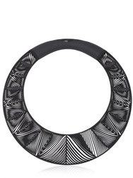 Vojd Studios Chevron Giant Torque Necklace