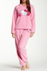 Hello Kitty Fluffy Cutie Pj Set Pink