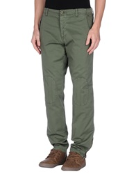 Officina 36 Casual Pants Military Green