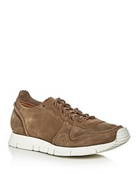 Buttero Carrera Lace Up Sneakers Tobacco Brown