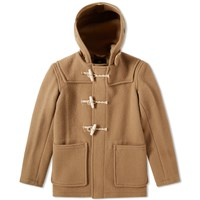 Gloverall Mid Length Monty Duffle Coat Neutrals