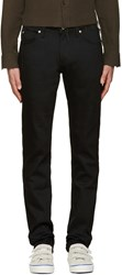 Naked And Famous Black Skinny Guy Power Stretch Jeans
