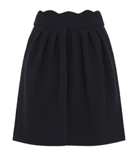 Claudie Pierlot Sylvia Tulip Skirt Female Navy