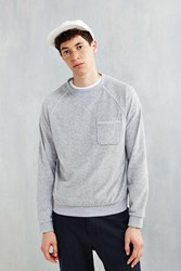 Bdg Terry Towel Sweatshirt Grey
