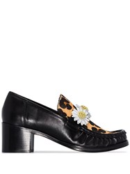 Sophia Webster X Patrick Cox Iconic Daisy Loafers Black