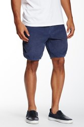 Quiksilver Street Trunk Scallop Short Blue