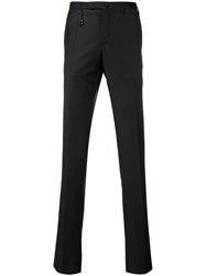 Incotex Straight Leg Trousers Black