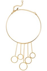 Marni Gold Plated Necklace One Size