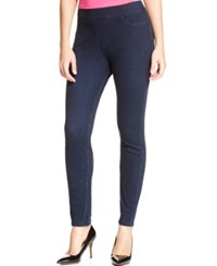 Hue Curvy Fit Jeans Leggings Midnight Rinse