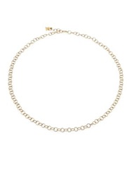 Temple St. Clair 18K Yellow Gold Round Link Necklace Chain 24