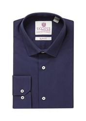 Skopes Men's Contemporary Collection Formal Shirt Navy