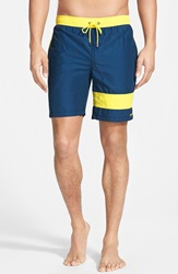 Mr.Swim Mr. Swim Colorblock Swim Trunks Navy