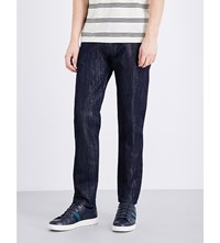 Paul Smith Ps By Slim Fit Tapered Jeans Navy