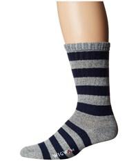 Wigwam Scrum Grey Navy Men's Crew Cut Socks Shoes Multi