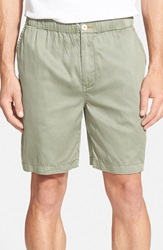 Tommy Bahama 'Beachfront Lounger' Relaxed High Rise Shorts Soapstone Green