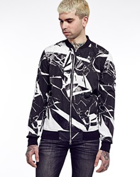 Religion Shattered Bomber Jacket