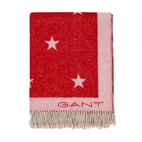 Gant Newstar Throw Dark Red