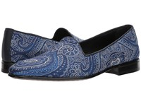 Etro Paisley Evening Loafer Blue Men's Lace Up Casual Shoes