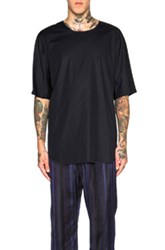 3.1 Phillip Lim Dolman Sleeve Tee In Blue