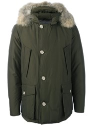 Woolrich Hooded Parka Green