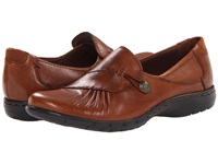 Cobb Hill Paulette Almond Women's Slip On Dress Shoes Brown