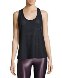 Koral Runout Athletic Mesh Tank Black
