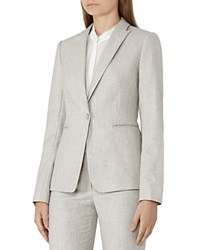 Reiss Connelly Wool Blazer Warm Gray