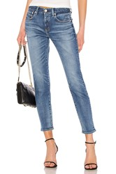 Red Card Anniversary High Rise Skinny Blue