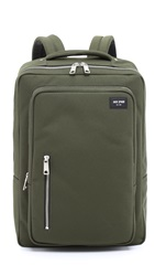 Jack Spade Commuter Nylon Cargo Backpack Green
