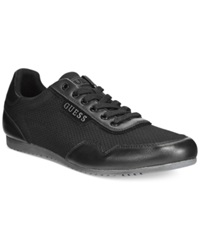 Guess Teddie Lace Up Sneakers Men's Shoes Black