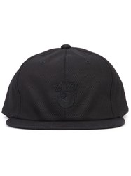 Stussy 8 Ball Embroidered Cap Black