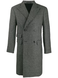 Z Zegna Houndstooth Double Breasted Coat 60