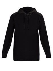Canada Goose Ashcroft Hooded Wool Sweater Black