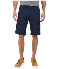 Buffalo David Bitton Hamburger Ripstop Cargo Short Whale Combo Men's Shorts Black