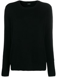 Aspesi Crew Neck Jumper Black