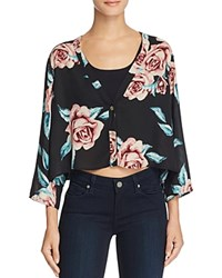 Show Me Your Mumu Uptown Floral Crop Top Flower Hour