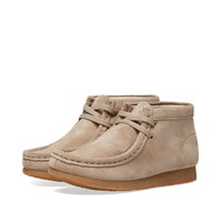 Clarks Originals Children's Wallabee Boot Neutrals