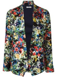 Roseanna Floral Print Fitted Jacket Multicolour