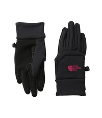 The North Face Etip Hardface Gloves Tnf Black Cherise Pink Extreme Cold Weather Gloves