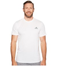 Adidas Essentials Tech Tee Big Tall White Men's Short Sleeve Pullover