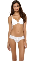 Cosabella Dolce Triangle Soft Push Up Bra White