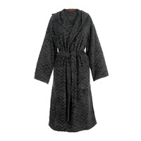 Missoni Home Rex Hooded Bathrobe 86 Grey